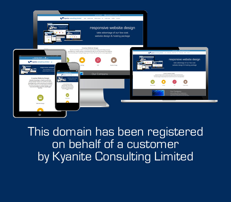 Website design and hosting across the UK from Kyanite Consulting Limited.
